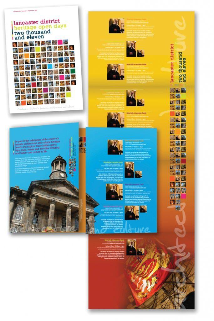 Heritage brochure design