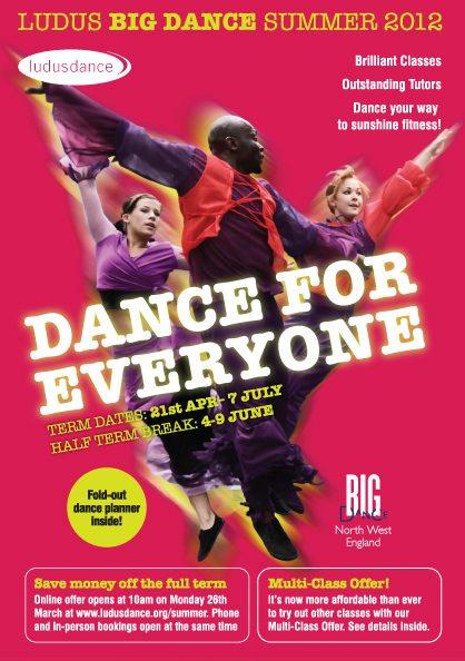 Ludus Dance Summer 2012 brochure