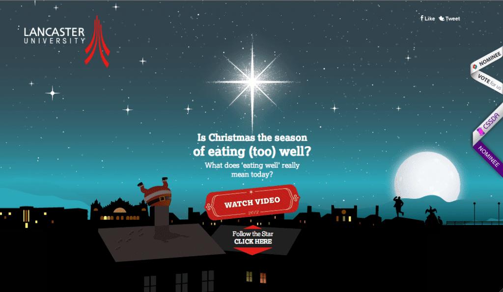 Lancaster University Christmas Season's Greetings