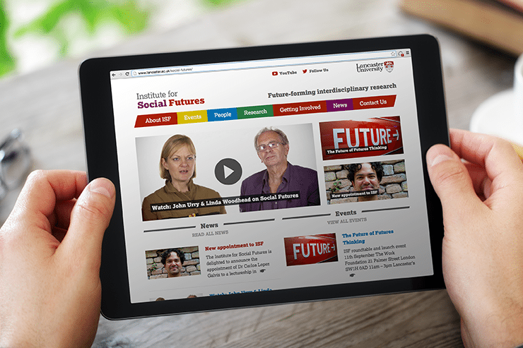 Our clients Lancaster University launch a new website created by Hotfoot
