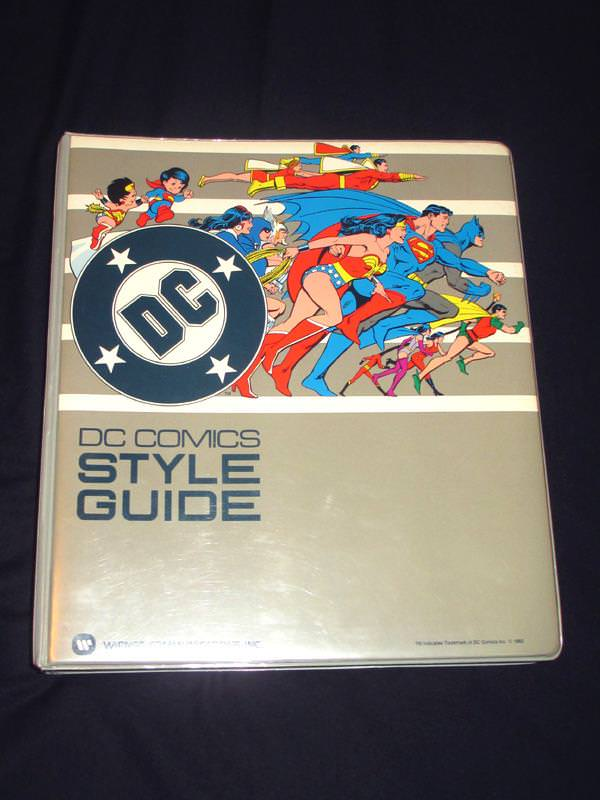 DC Comic 1982 Style Guide