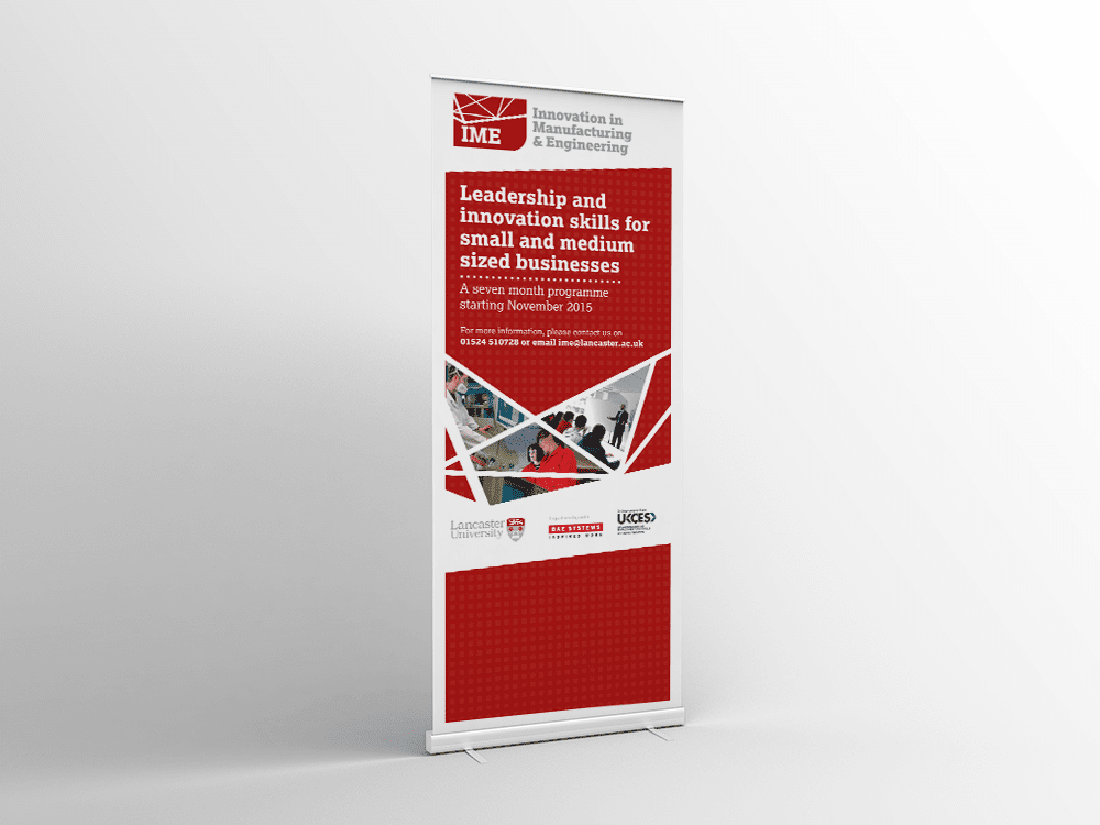 Brand Identity for Lancaster University Partnership Programme