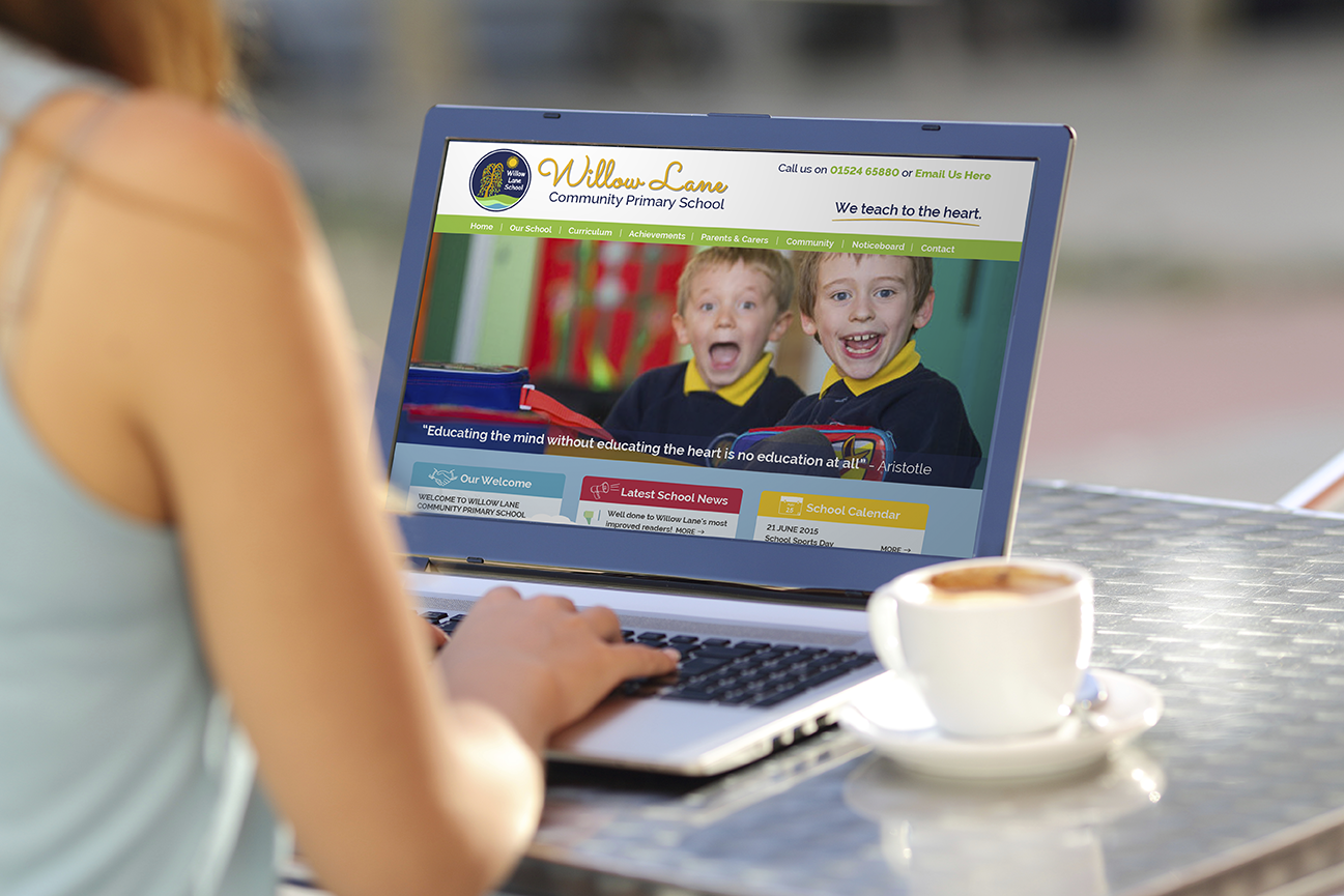 Hotfoot launches a new website for Willow Lane Primary School