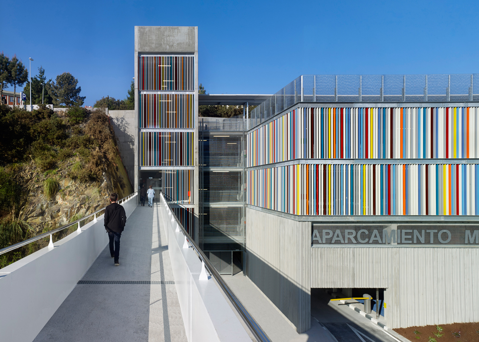How design saved a multi-story car park in Spain from being another concrete eyesore