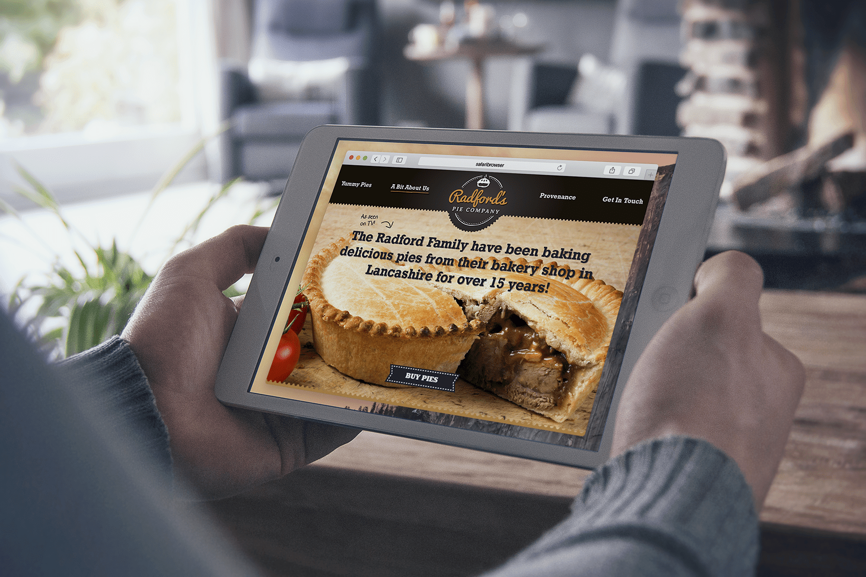 Hotfoot designs and builds a tasty new ecommerce website for Britain's biggest family