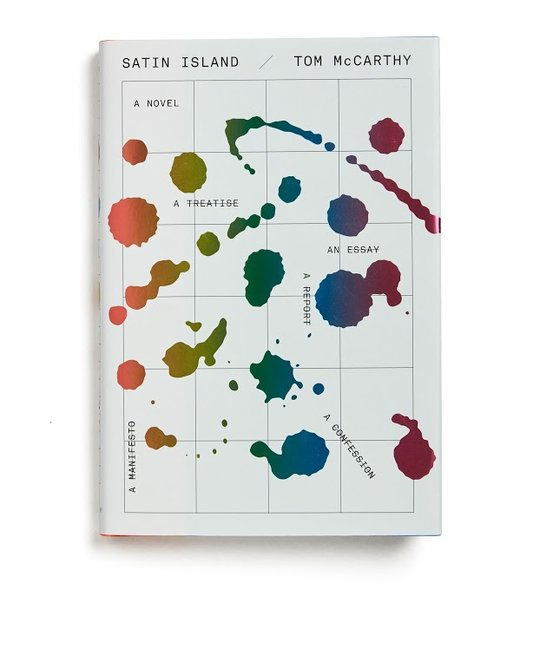 """Satin Island"" by Tom McCarthy Designed by Peter Mendelsund Publisher: Alfred A. Knopf"