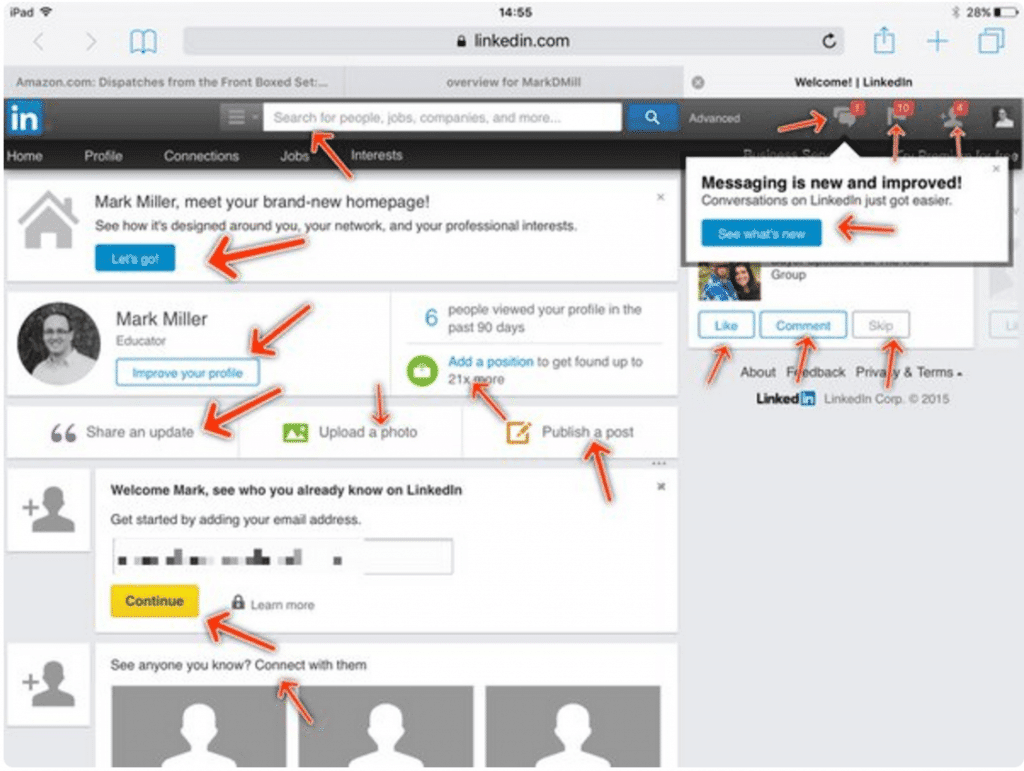 How not to do it: LinkedIn's 16 calls to action are just noise