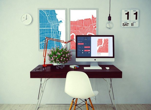 Turn a map of anywhere into wall art with GrafoMaps (we did Lancaster)