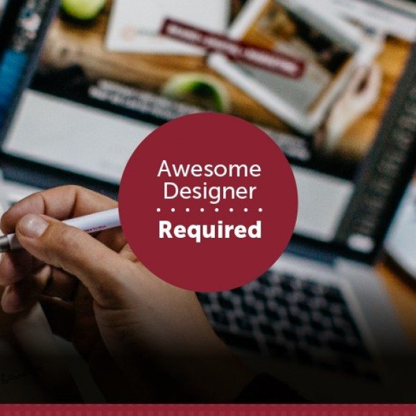 Awesome Designer Required