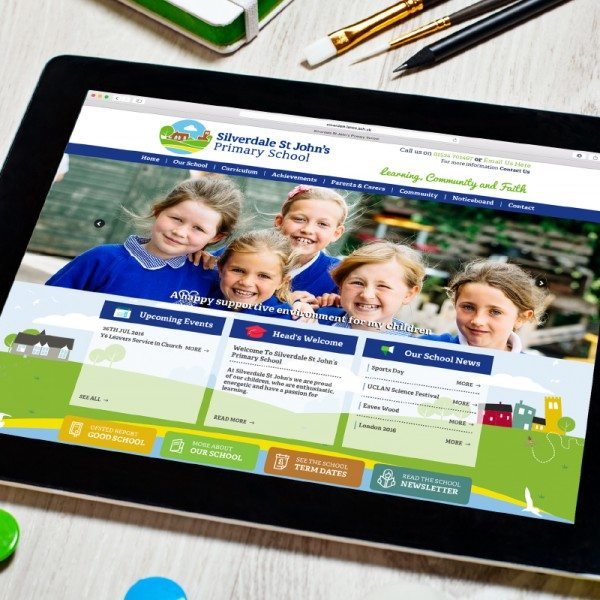 Silverdale Primary School - Responsive Website