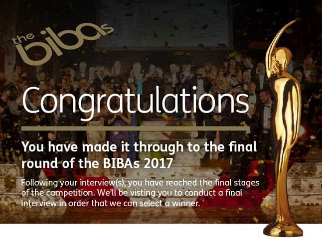 Creative Agency of the Year Nomination at the BIBAs 2017