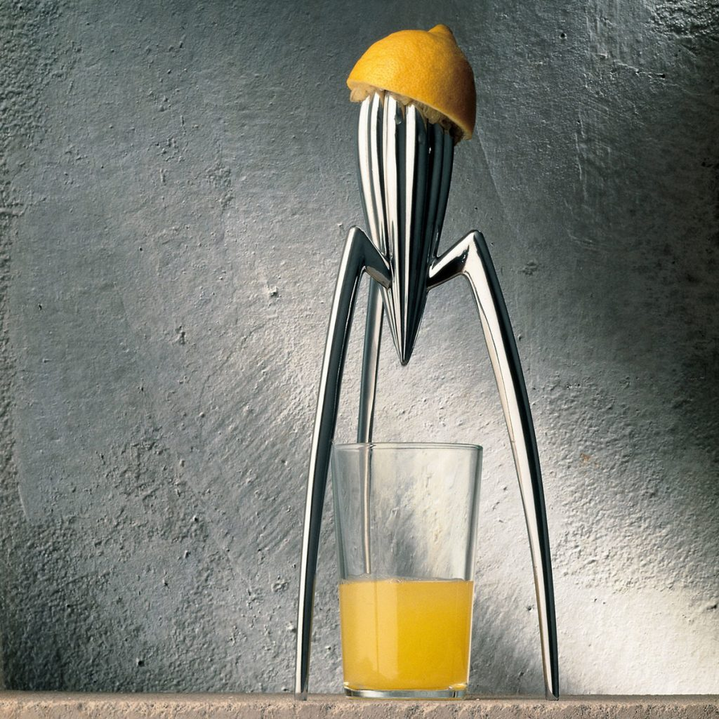 From a boring factory to a squeezed lemon: A brief history of Alessi