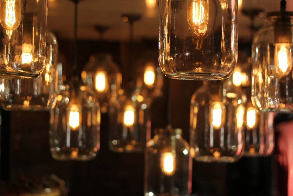 Where did all the vintage light bulbs come from?