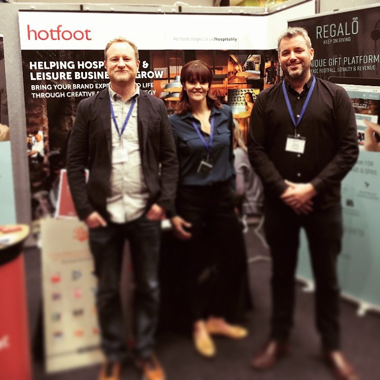 Hotfoot at the North West Hospitality Show 2018