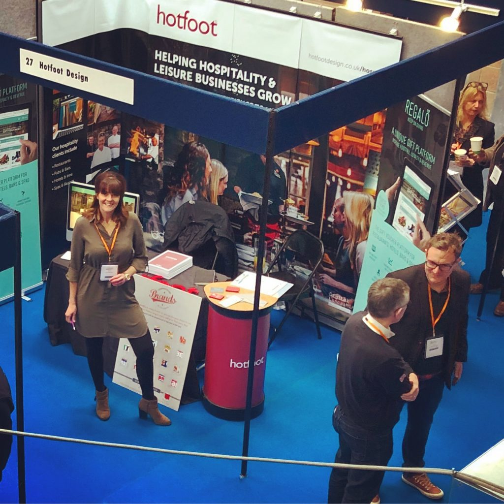 Hotfoot at the Lakes Hospitality Trade Show 2018