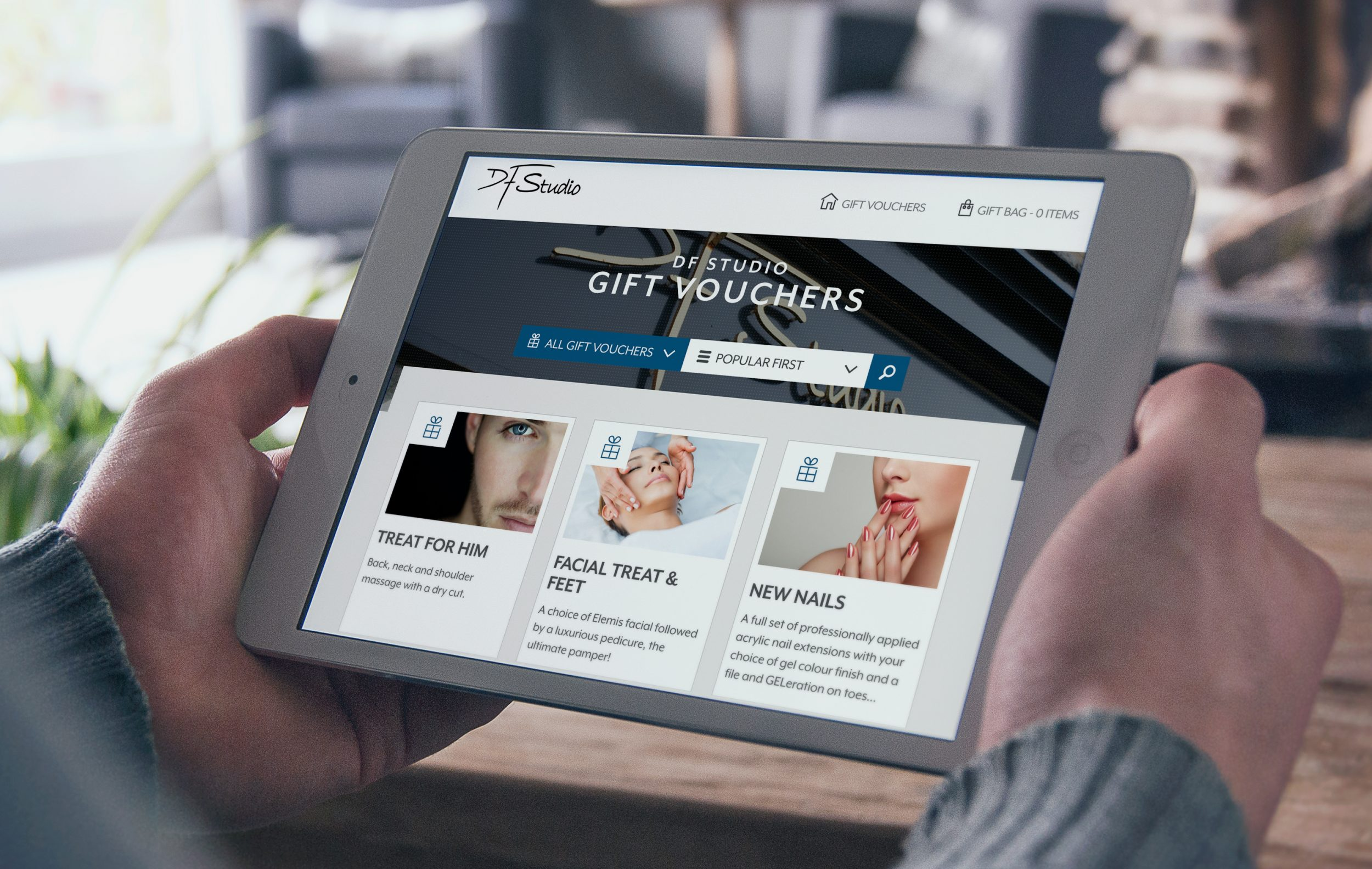 A trio of new client wins for Hotfoot's gift voucher