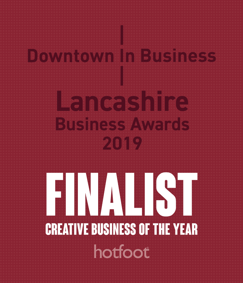 Hotfoot nominated for Creative Business of the Year at the Lancashire Business Awards