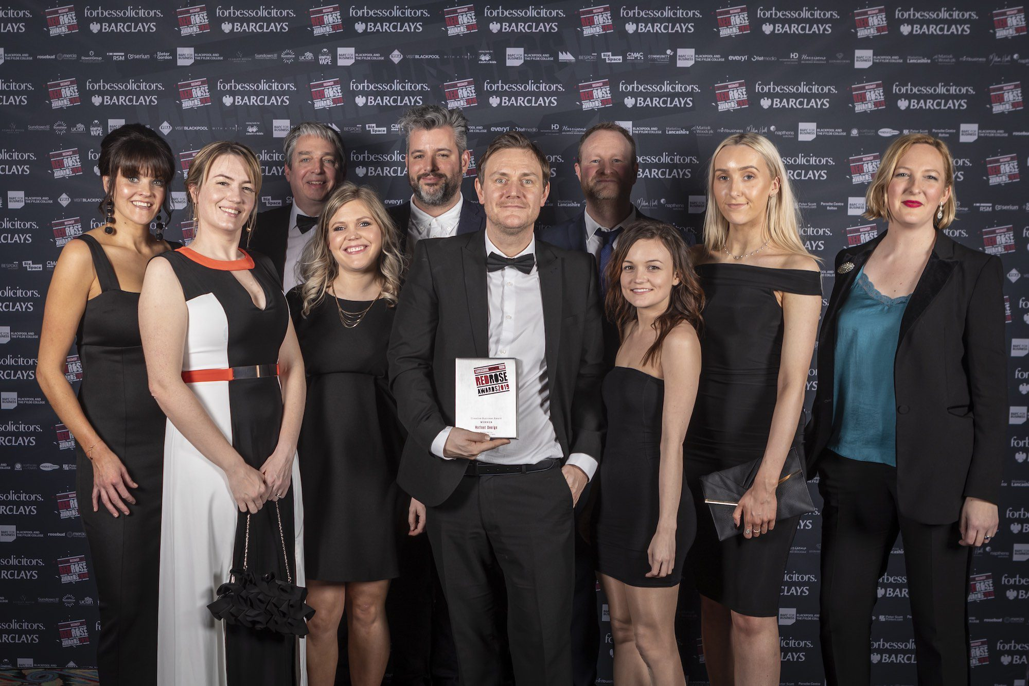 Hotfoot Design wins Creative Business of the Year Award