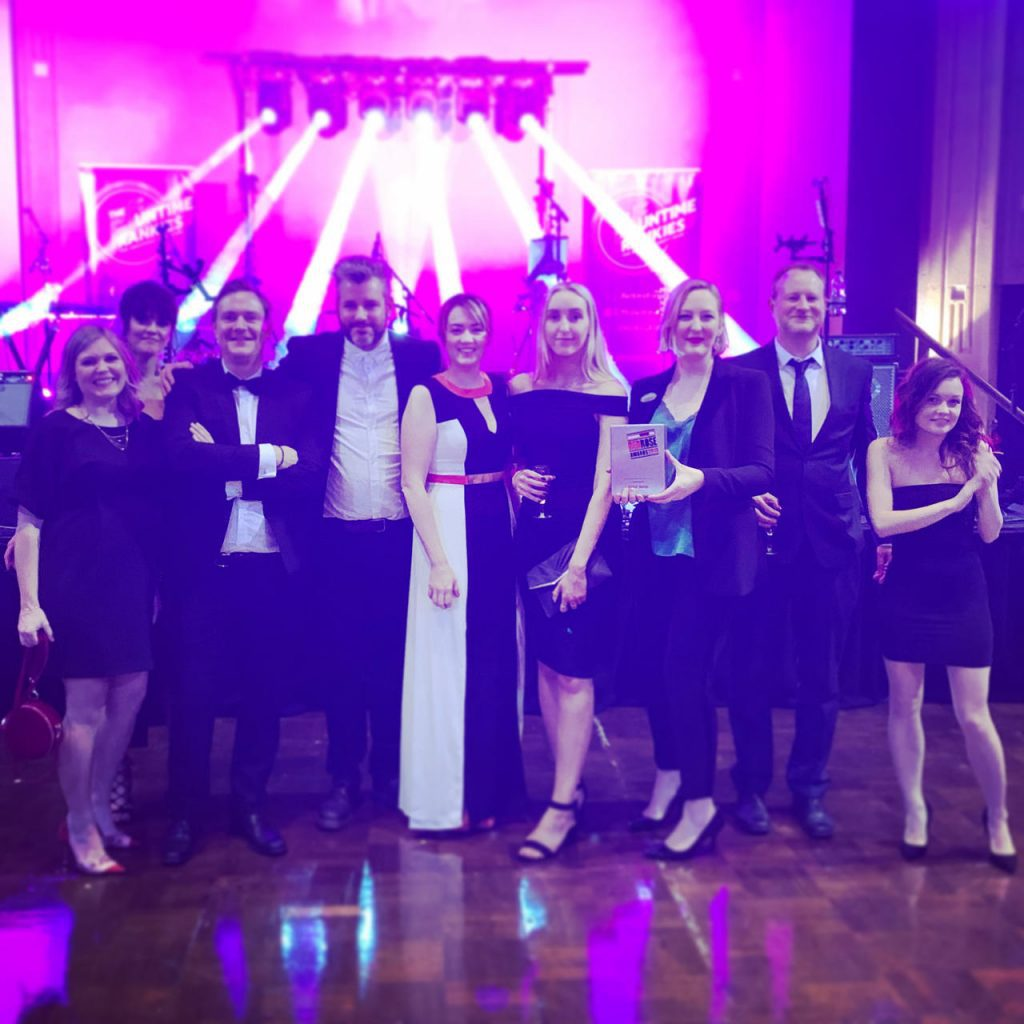 Hotfoot Design Wins Creative Business of the Year at the Red Rose Awards 2019
