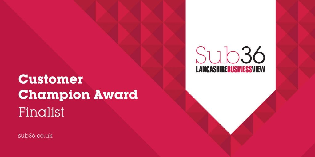 Hotfoot's Ellie Pritchard is nominated for Customer Champion at the Sub36 Awards 2019