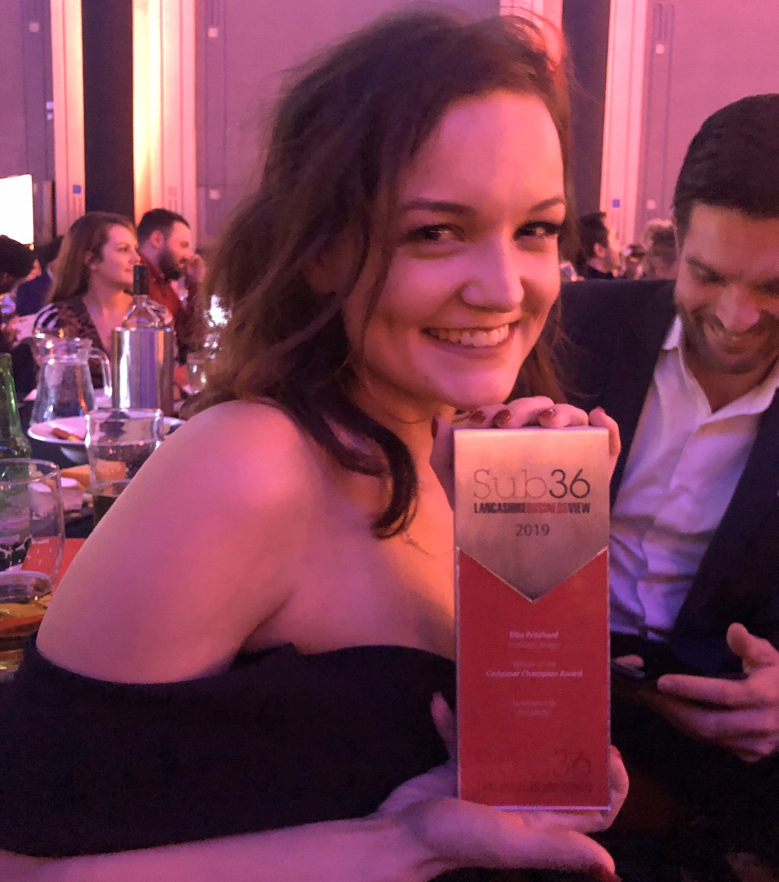 Hotfoot's Ellie Pritchard wins 'Customer Champion' Award at Sub36