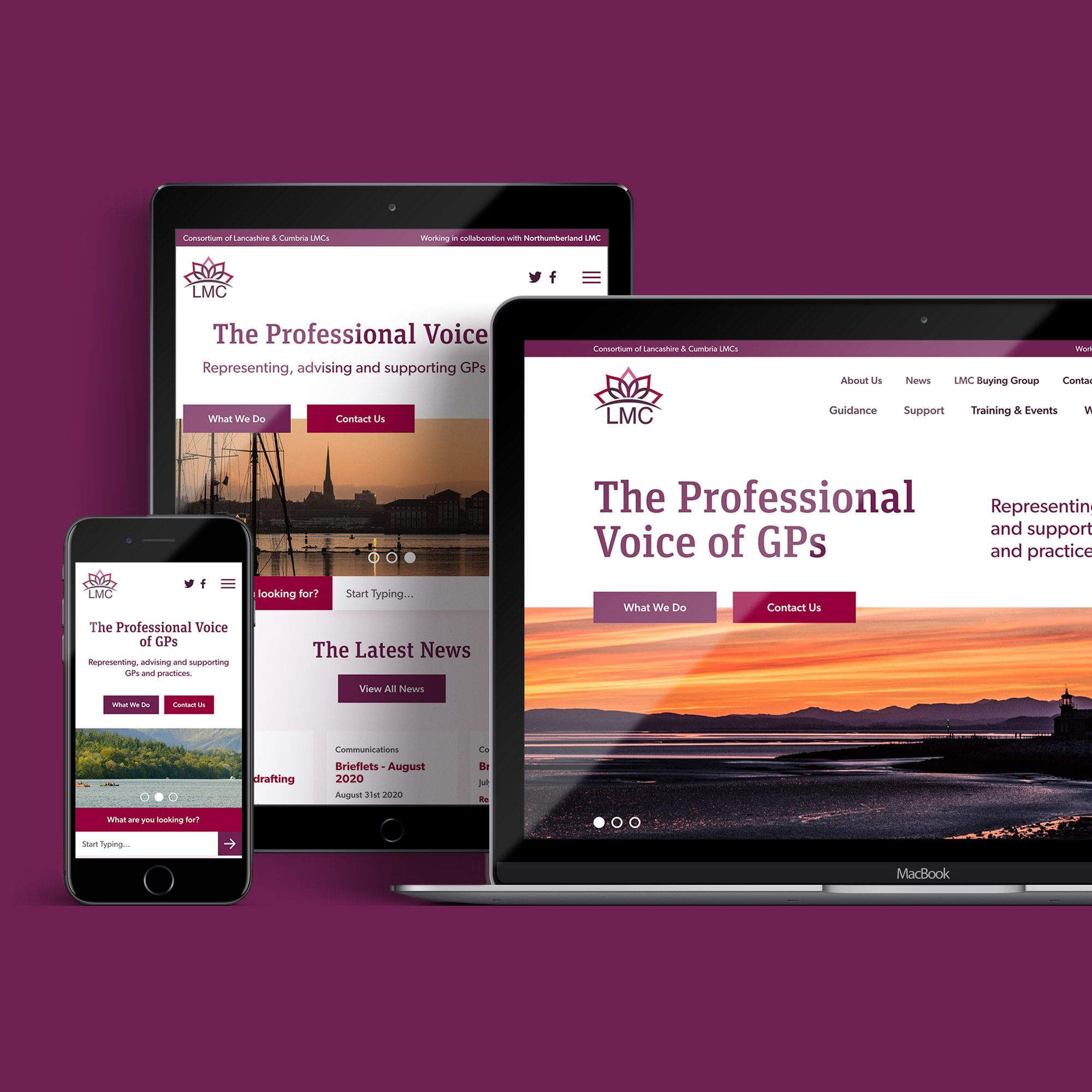 Launch of a new website for the Consortium of Lancashire and Cumbria Local Medical Committees